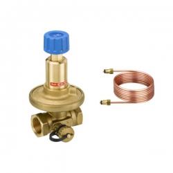 Регулятор перепада давления с диапазоном настройки 0,05-0,25 бар с импульсной трубкой 1,5м
