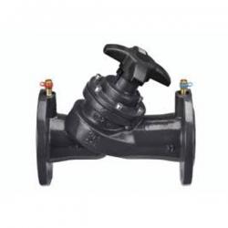 Клапан балансировочный с измерительными ниппелями, фланцевые. Py=16bar, t max=130°C