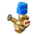 Клапан балансировочный комбинированный с измерительными ниппелями