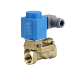 Клапаны соленоидные(закрыты при отсутствии тока на катушке) для воды, воздуха, масла. 10Вт, 220В.